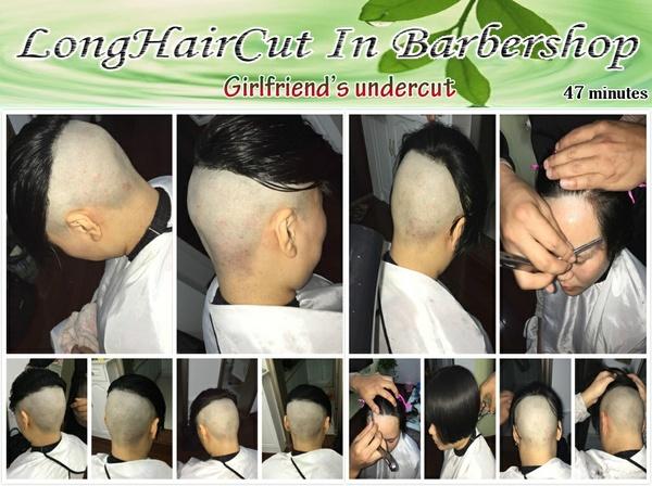Girlfriend's undercut