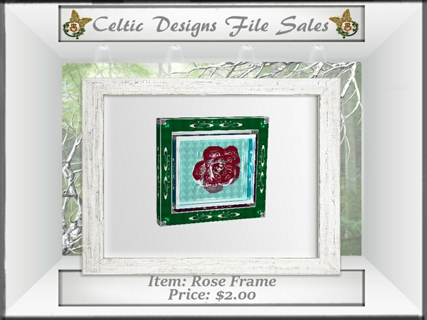 CD Rose Frame