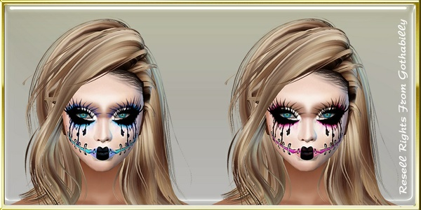 Doll Face Paints Catty Only!!!!