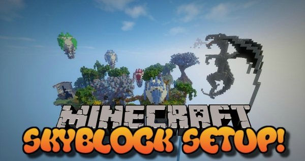 Full Skyblock Setup! Minecraft 1.8