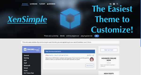 XenSimple | The easiest theme to configure!