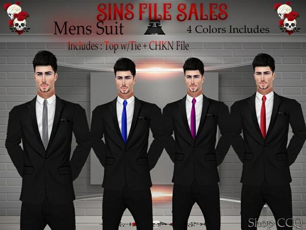 Mens Suit Set