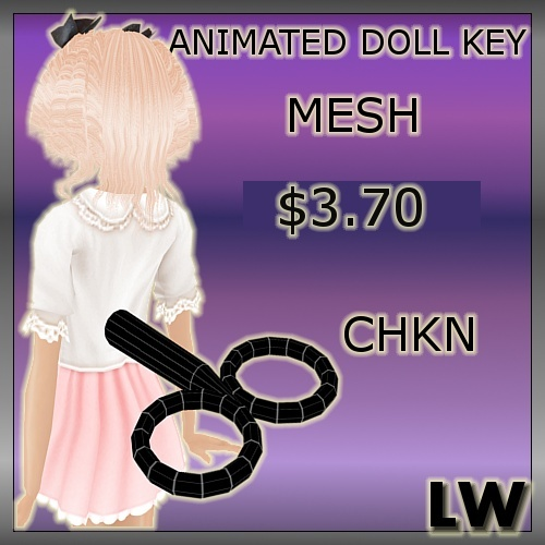 Animated Doll-Key MESH