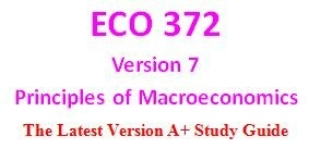 ECO 372 Week 1 Product Selection For Week 2 Individual Assignment