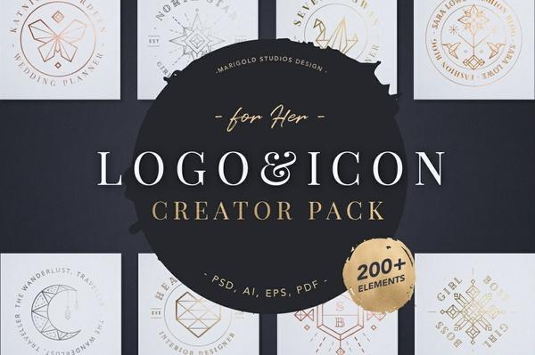 Logo & Icon Creator Pack