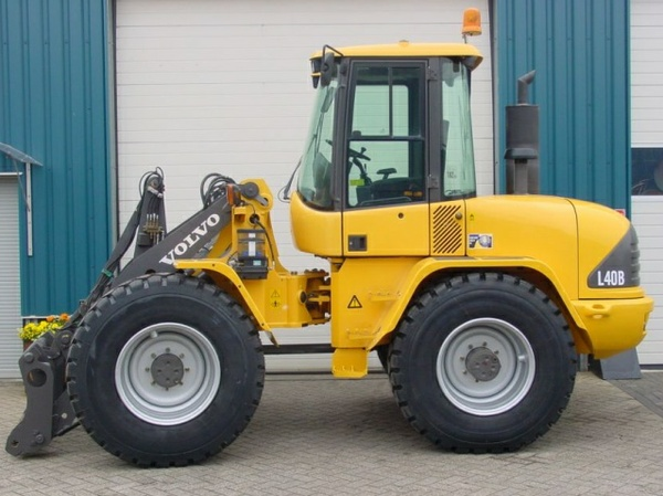 VOLVO L40B COMPACT WHEEL LOADER SERVICE REPAIR MANUAL - DOWNLOAD