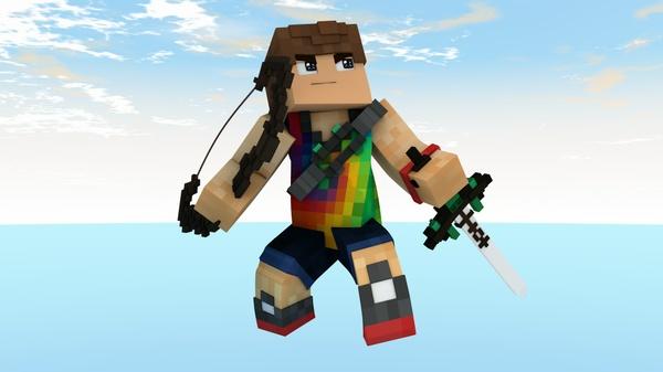Minecraft | C4D Render [1500 X 1500]