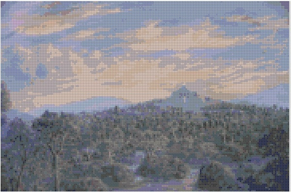 cross stitch pattern Mar-045c