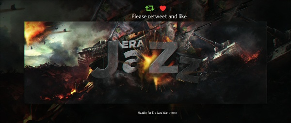 Header forJazz | Psd Template