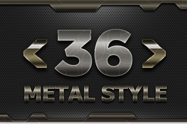 36 Metal Solid Style V02