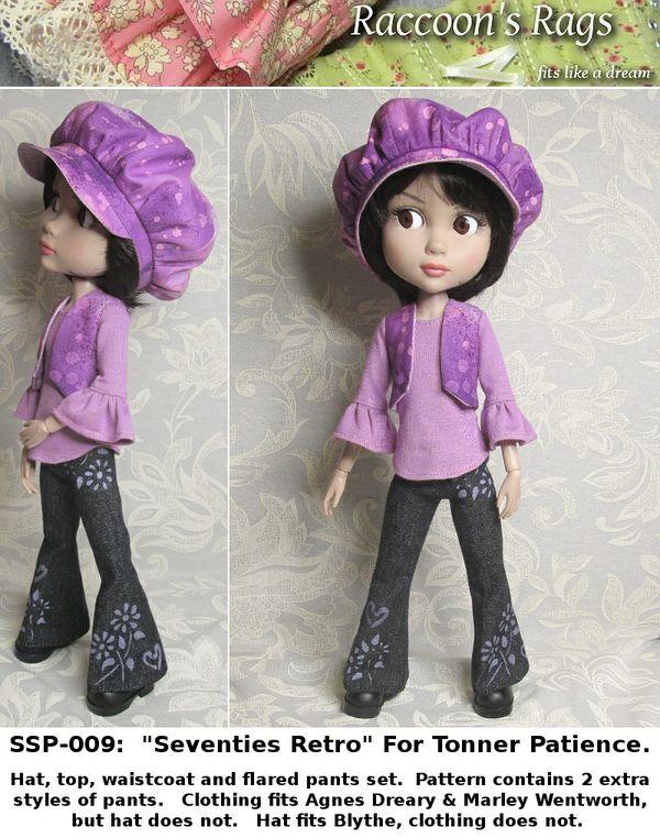 """SSP-009: """"Retro"""" for Wilde Patience.  Top, pants, waistcoat and bakersboy hat."""