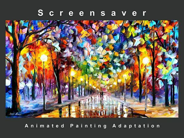 """ First Snow "" Screensaver ( Art Adaptation )"