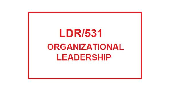 LDR 531 Week 6 Failure AnalysisChange Strategy