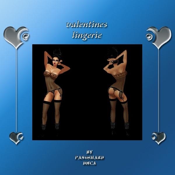 valentines lingerie