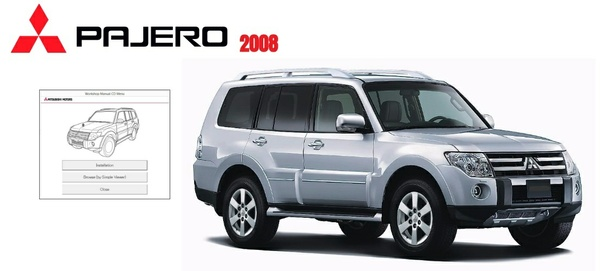 MITSUBISHI PAJERO 2008 WORKSHOP MANUAL