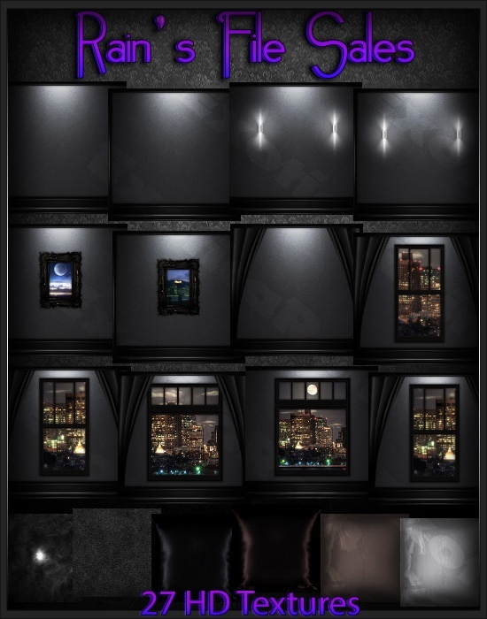 Dark City --IMVU ROOM TEXTURES