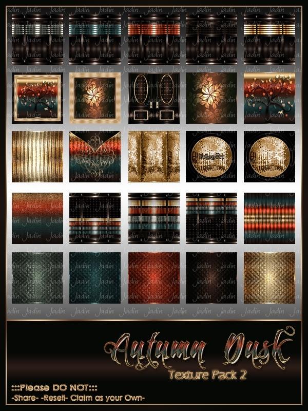 Autumn Dusk Texture Pack 2 -- $10.00