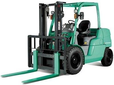 Mitsubishi Diesel Forklift Truck  FD40N, FD45N, FD50CN, FD50N, FD55N Workshop Service Manual