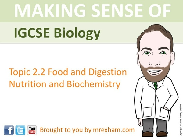 IGCSE Biology - Nutrition and Biochemistry Presentation