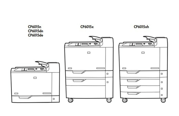HP Color LaserJet CP6015 Series Printers Service Repair Manual
