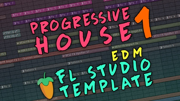 FL Studio - EDM Progressive House Template 1