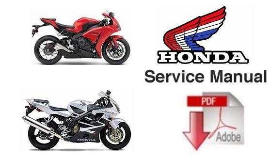 Honda VTR1000F Super Hawk Service Repair Workshop Manual (1998-2003)