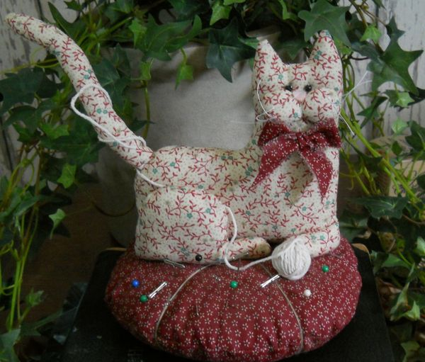 #209 Cat Pin Cushion E Pattern