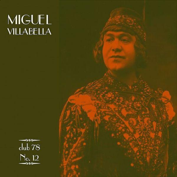 Miguel Villabella * club 78 No. 12