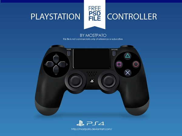 Free PS4 Controller Template