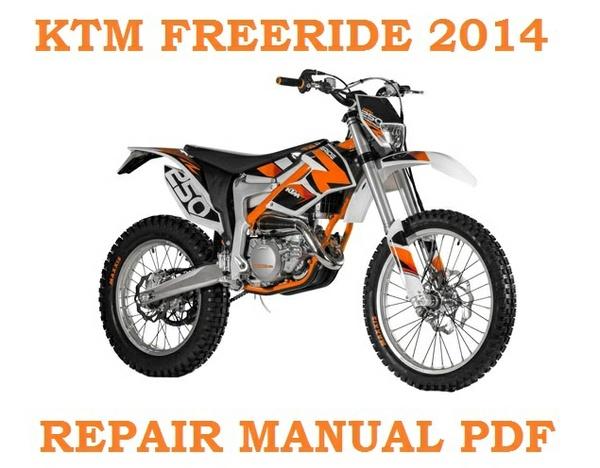 2014 KTM FREERIDE 250 R EU AUS REPAIR SERVICE WORKSHOP MANUAL ►PDF DOWNLOAD◄