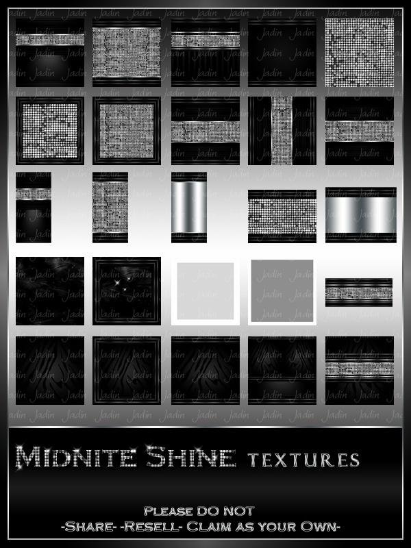 Midnite Shine Texture Pack --- $3.00