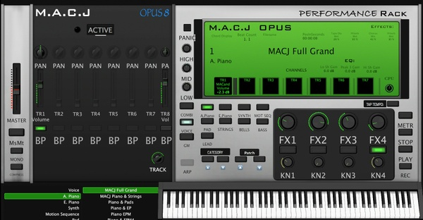 M.A.C.J OPUS 8 Performance Rack