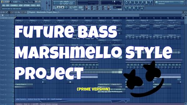 FL Studio - Future Bass Marshmello Style Project (Prime Version)