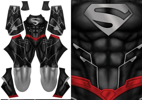 SUPERMAN BLACK VARIANT pattern file