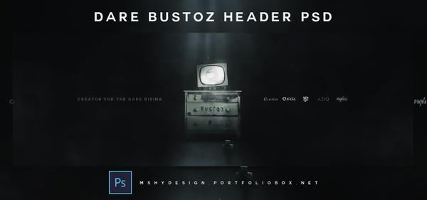 Dare Bustoz Header PSD