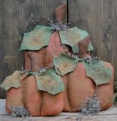 #450 Simple Pumpkins e pattern