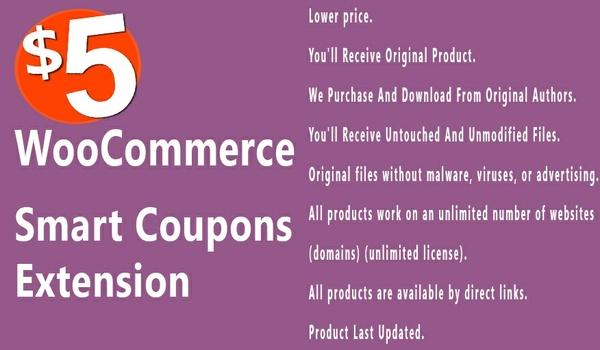 WooCommerce Smart Coupons 3.3.10 Extension