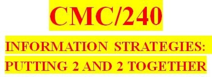 CMC 240 Week 6 Exploring Virtual Libraries