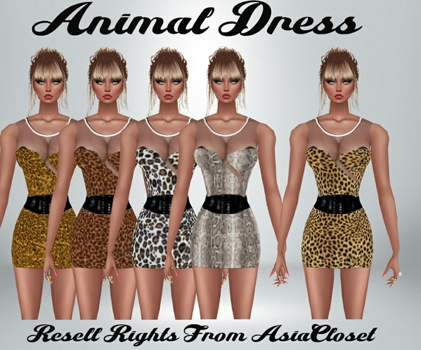 Animal Dress 1 Catty Only!!!