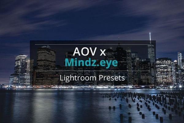 AOV x Mindz.eye Lightroom Presets