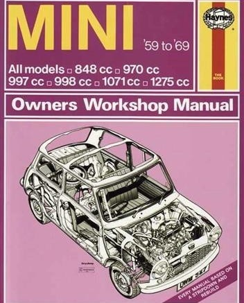BMW Mini 1959-1969 Workshop Manual