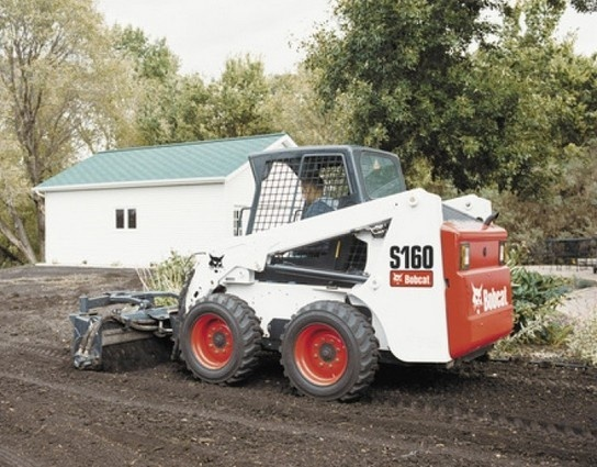 Bobcat S160 Skid - Steer Loader Service Repair Workshop Manual DOWNLOAD (S/N 529960001 & Above )