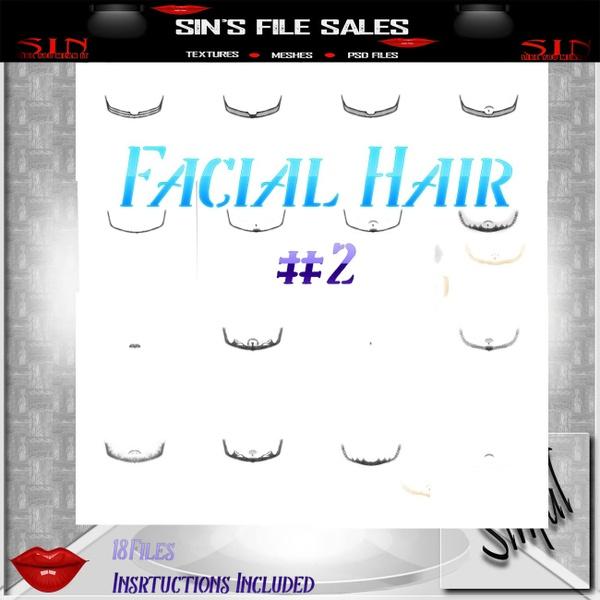 Facial Hair Add On #2