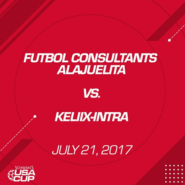 Boys U13 Gold - July 21, 2017 - Futbol Consultants Alajuelita vs Keliix-Intra 1