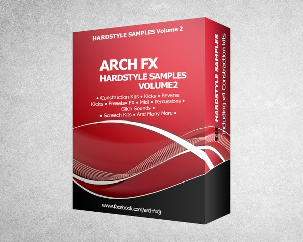 Arch FX - Hardstyle Samples Pack VOL2 + Euphoric Hardstyle Constuction Kits