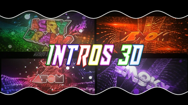 INTRO 3D GR , BR ,PLASTIC