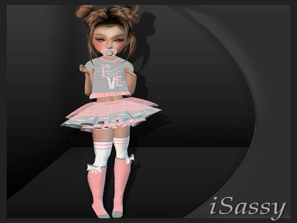 Kids Lil Love Fit - PSD