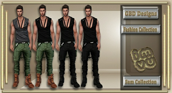 Men's Sam Collection CATALOG ONLY!!