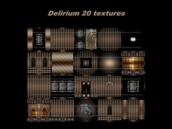 DELIRIUM 20 TEXTURES