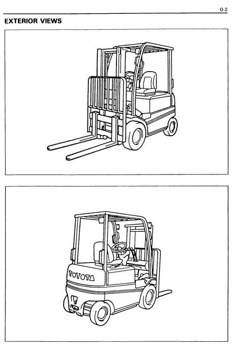 Toyota (BT) Electric Forklift Truck: FBMF16, FBMF20, FBMF25, FBMF30 Workshop Service Manual